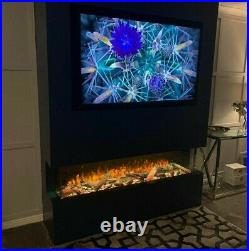 Electric Fire 3/2/1 Sided Glass 1250mm (50)wide (SLE125)