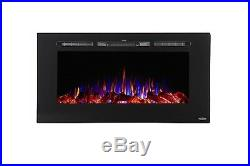 Electric Fireplace 40 Recessed 80027 Touchstone Home Products