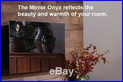 Electric Fireplace Black Mirror Onyx 50 Mirror Onyx 50