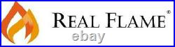 Electric Fireplace Real Flame Crawford Built In Look Heater White