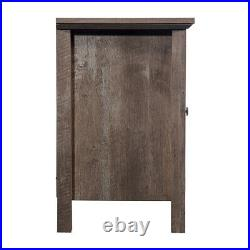 Electric Fireplace TV Stand Wooden Media Console Heater Entertainment Center US