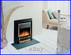 Electric Free Standing Cheriton Flame Effect Traditional Fire Black