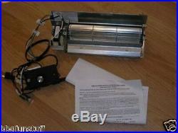 Empire Comfort Systems Factory Prefab Fireplace Blower Fan Kit FBB4-3 New