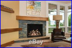 Empire Rushmore Gas Fireplace TruFlame 36 DVCT36CBP95N Direct-Vent Clean Face