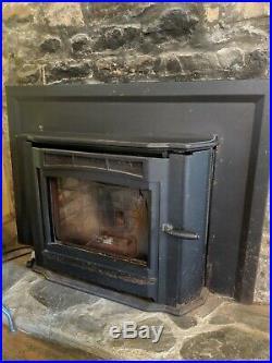 Enviro Milan A pellet stove fireplace insert