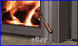 Enviro Venice 1200 Wood Burning Fireplace Insert Package Deal- SALE PRICE
