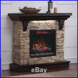 Admirable Eugene Electric Fireplace Mantel Package In Aged Coffee Download Free Architecture Designs Griteanizatbritishbridgeorg