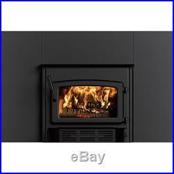 FIREPLACE HEARTH INSERT Wood Burning 1,900 Sq Ft 75,000 BTU EPA Certified