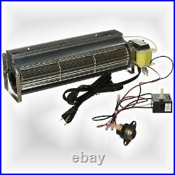 Fire Place Blower Thermal Switch Motor Replacement Hearth Fan Speed Control Part