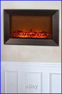 Fire Sense Wall Hanging Fireplace