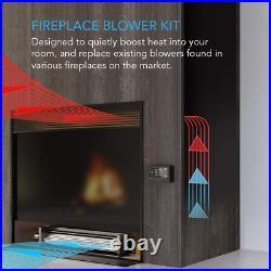 Fireplace Blower Fan Digital Temp Speed Controller Kit for Lennox Majestic Rotom