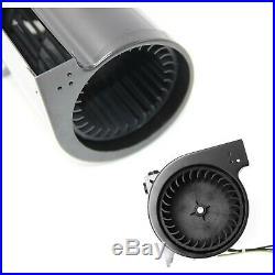 Fireplace Blower Fan Kit With Ball Bearings Motor Gfk-160 Gfk-160A Universal Fit