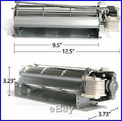 Fireplace Blower Fan Kit for Heatilator Majestic Vermont Castings Rotom HB-RB74K