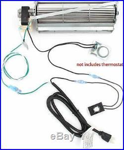 Fireplace Blower Fan Repair Kit for Desa Vanguard Vexar Comfort Flame Glow Rotom