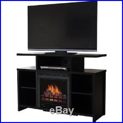 Fireplace TV Stand up to 50 Media Electric Entertainment Console Heater