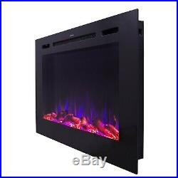 Forte 80006 40 Recessed Electric Fireplace