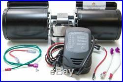 GFK-160B Fireplace Blower Fan for Heatilator Heat & Glo Gas Fireplace Inserts
