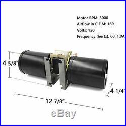 GFK-160, GFK-160A, Fireplace Blower Fan Kit Ball Bearings Motor For Heat N Glo