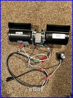GFK-160 GFK-160A Fireplace Blower Fan Kit for Heat & Glo Quadra-Fire Fireplaces