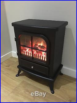 Galleon Fires Sirius Electric Stove Fire Log Flame Effect