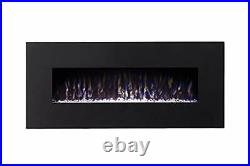 Gibson Living GL5050CE Lawrence 50 Inch Crystal Electric Wall Mounted Firepla