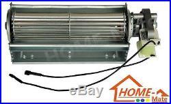 Heat Surge NEW Quiet 75 CFM Fireplace Blower Stove Fireplace Insert Squirrel Fan