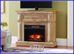Home Decorators Collection 42 in. Mantel Console Infrared Electric Fireplace
