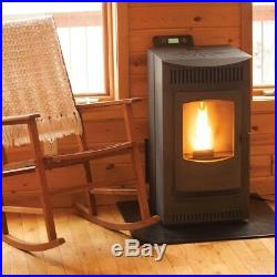 Home Heating Fireplaces Freestanding Hopper Wood Pellet Stove with Auto Ignition