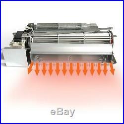 Hongso FBK-250 Replacement Fireplace Blower Fan KIT for Lennox, Superior, Rotom