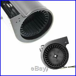 Hongso Replacement Stove Fireplace Blower Fan KIT with Ball Bearings Motor for H