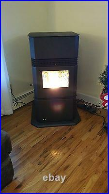 Hudson River stove works Kinderhook XL Pellet Stove 59,000 BTUs 130 lb hopper