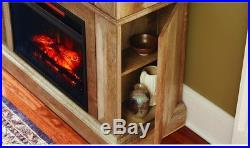 Infrared Electric Fireplace TV Stand Media Console Fire Place Heater Home Decor