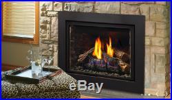 Kingsman IDV26 Direct Vent Gas Fireplace Insert Traditional Millivolt NG