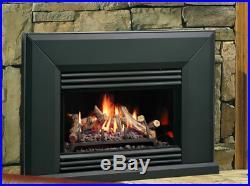Kingsman VF125 Direct Vent Gas Fireplace Insert Traditional Millivolt Propane