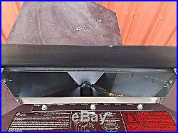 Lennox Country Winslow PI40 Fireplace Insert Pellet Stove Used / Refurbished
