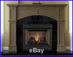 Lennox Direct Vent Fireplace Merit Series Plus Natural Gas 35 MPDP35IN