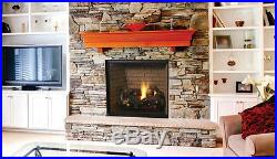 Lennox Montebello Mdlx40in 40 Direct-vent Fireplace Natural Gas Electronic Ign