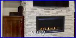 Majestic JADE32IN Jade 32 Linear Gas Fireplace with Intellfire Ignition Modern