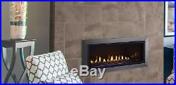 Majestic JADE42IN Jade 42 Linear Gas Fireplace with Intellfire Ignition Modern