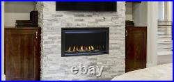 Majestic Jade 32 Linear Direct Vent Fireplace Package Deal! MODERN