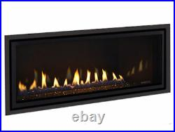 Majestic Jade 42 Linear Direct Vent Fireplace Package Deal With Venting Complete