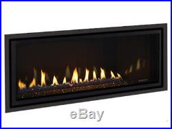 Majestic Jade 42 Linear Direct Vent Fireplace Sleek Customizable Modern Glass