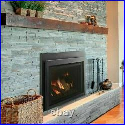 Majestic Ruby 25 Small Natural Gas Insert Fireplace RUBY25IL w Remote & Blower