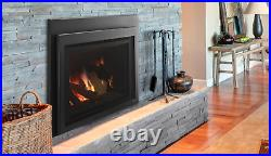 Majestic Ruby 30 Direct Vent Natural Gas Insert with Remote Control & Log Set
