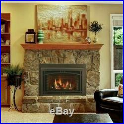 Majestic Ruby 35 Large Natural Gas Insert Fireplace RUBY35IN w Remote & Blower