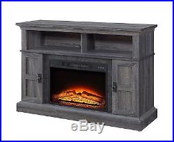 Media Electric Fireplace TV stand 55 Heater Entertainment Center Console Remote