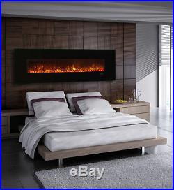 Modern Flames AL80CLX-G Wall Mount/Built-in Electric Fireplace Black DEALS