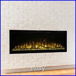 Modern Flames Spectrum Slimline Wall Mount/Built-In Electric Fireplace, 60-Inch