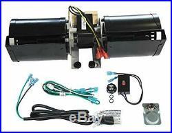 Mr. KAN GFK-160 GFK-160A Fireplace Stove Blower Fan Kit for Heat N Glo, Quadra F
