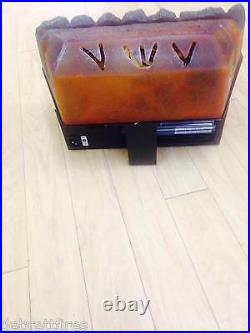 NEW 16 40cm Inset Tray LED Electric Fire fit Coal Back Brick Basket replacement